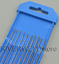 2% Ceriated WC20 TIG Welding Tungsten Electrode Assorted Size 1.0mm(5)& 1.6mm(5)