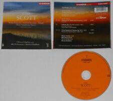 Cyril Scott, Olivier Charlier, Martyn Brabbins vol. 3 - U.K. cd