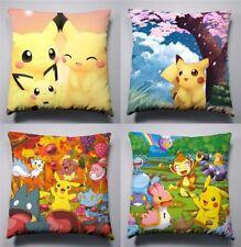 NEW POKEMON Pikachu 15.7x15.7 inch Sofa Pillow Cushion Double Side
