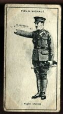 Tobacco Card, Imperial Canada, INFANTRY TRAINING, 1915, Field Signals, #43