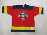 VINTAGE Pavel Bure Florida Panthers Hockey Jersey Adult Large Red Blue NHL Mens