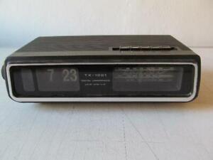 Klappzahlenwecker - TX - 1001 - 70er Jahre