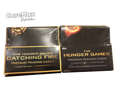 NECA The Hunger Games Trading Card Box (lot of two boxes - 2012 + 2013)