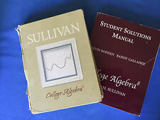 COLLEGE ALGEBRA  SET (8th Ed.) by Michael Sullivan  w/ CD/ROM & SOLUTIONS MANUAL