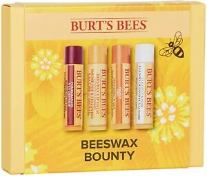 Burts Bees Beeswax 4 pack Lip balm Moisturising Bounty Gift Set 0.069 kg honey