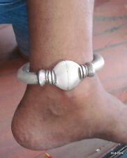 Old silver Anklet Feet Bracelet Bangle vintage antique indiantribal jewelry