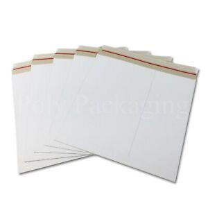 "10 x 12"" LP Cardboard Record Mailers RIGID Album Vinyl for Royal Mail Postage"