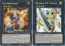 Yugioh Authentic Bronk Stone Deck - Tin Archduke - Number 39: Utopia - 42 Cards