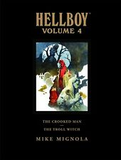 HELLBOY LIBRARY EDITION VOL #4 HARDCOVER Dark Horse Comics HC The Crooked Man