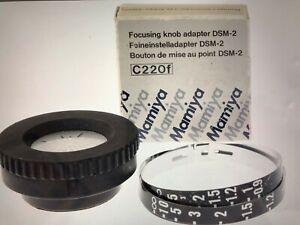 Mamiya C3 C220F DSM-2 focusing knob  Rare