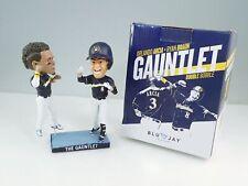 2018 Milwaukee Brewers Ryan Braun Orlanda Arcia Gauntlet Bobblehead In Box