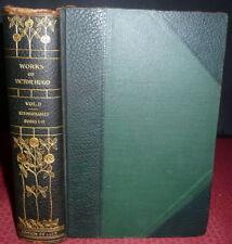 Les Miserables by Victor Hugo.  1907 Nottingham Edition de Luxe. Leather