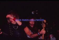 IRON MAIDEN 1980s DIAPOSITIVE DE PRESSE ORIGINAL VINTAGE SLIDE #4