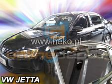 Windabweiser VW JETTA Stufenheck 4tür 2011-heute 4-tlg HEKO dunkel Regenabweiser