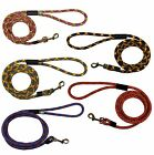 VERY STRONG - Dog Rope Leash - Handles Strong Pulling Dogs 3 & 6 Feet Long