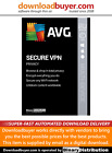 AVG Secure VPN 2021 - 5 Device - 1 year [Download]
