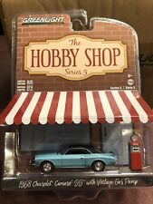 Greenlight Hobby Shop Series 5.  1968 Chevrolet Camaro SS w/  gas Pump