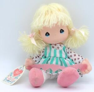 """New Vintage 1989 Precious Moments by Applause Love Heart Chain Doll 7"""" #16587"""