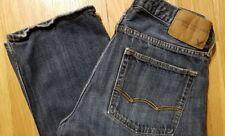"Mens AMERICAN EAGLE Original Straight Jeans 30 x 32 (actual 31x31"") factory fade"