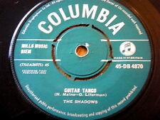 """THE SHADOWS - GUITAR TANGO  7"""" VINYL"""