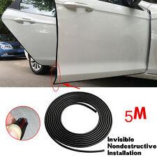 Car Exterior Adhensive Door Edge Guard Scratch Protector Moulding Trim Strip 5M