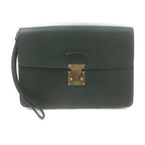 Louis Vuitton LV Clutch Bag Pochette Epicea M30194 Greens Taiga 2407947