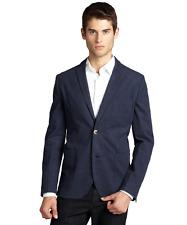 Zachary Prell Morton Blue Brushed Cotton Blazer Jacket MEN'S SIZE:40