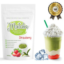 Matcha Outlet Strawberry Green Tea Powder (100g) FREE 1-3 Day USA Shipping
