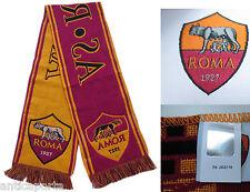 Sciarpa Roma Originale Ufficiale AS ROMA Jaquard Scarf Stadio Sped.GRATIS