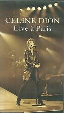 K7 VIDEO - CELINE DION : EN CONCERT LIVE A PARIS / CASSETTE TAPE