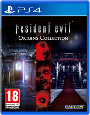 RESIDENT EVIL ORIGINS COLLECTION PS4 ESPAÑOL CASTELLANO FISICO