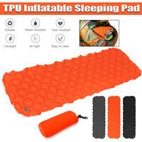 Inflatable Mat Sleeping Pad Air Mattress Cushion For Camping Hiking Backpacking