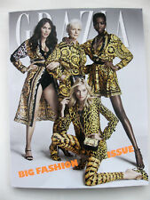 GRAZIA VERSACE Cover DESIGNER FASHION ISSUE MAGAZINE LV BAGS SHOES Subscribers N