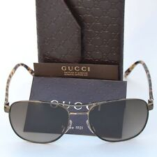 GUCCI New Designer Aviator Sunglasses GG 2220/S 57-17-140 WO4HA Authentic