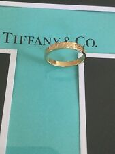 New. Tiffany & Co. Gold Ring $675/new