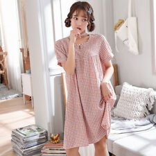 Casual Nights Women's Light Short Dorm Sleep Shirt with Short sleeves Nightgown