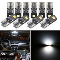 10X 12V Canbus 2825 T10 168 194 W5W Dome License Side Marker LED Light Bulb