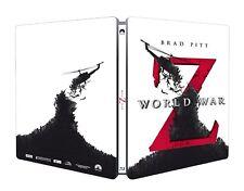 WORLD WAR Z (Brad Pitt) Blu-ray Disc + DVD, Steelbook (NEU+OVP) Italien-Import
