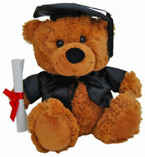 Soft Toy Elka 18cm Bear Jelly Graduation Brown ( Each )