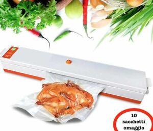 Macchina per sottovuoto alimenti professionale 30 Cm confeziona cibo casa 100W