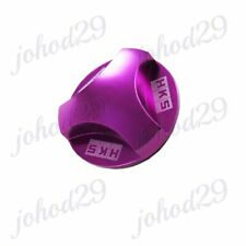 New Purple HKS Aluminum Hexagonal Racing Engine Oil Filler Cap For MITSUBISHI