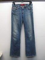 Women's Big Star medium wash boot cut blue jeans size 28R (30/32) EUC