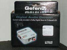 GEFEN tv DIGITAL AUDIO DECODER Dolby Digital 1119-EB02 NIB