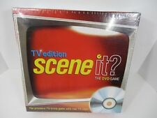 Scene it the DVD Game TV Edition NEW SEALED FAST SHIPPING