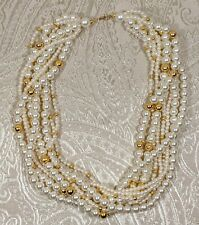 Vintage Pearl Fashion Jewelry Necklace