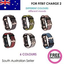 2 Colour Silicone Strap Gel Band with CLASP for FITBIT CHARGE 2 SA & AU SELLER