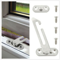 Security Window Restrictor Child Baby Safety Lock Catch UPVC Door Ventilator 1/2