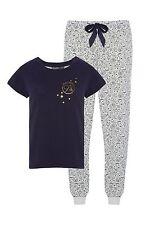 Harry Potter Pyjamas Set NEW Top Bottom Ladies Girls Primark UK14-16 USA 10-12