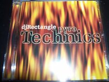 DJ Rectangle ‎– Pyro Technics CD - NEW