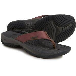 Keen Kona Maroon Mens size 13 Flip-Flops Sandals NEW